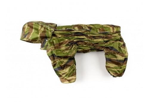 Дождевик Masca непромокаемый с капюшоном для собак породы бигль, шарпей, чау-чау, кокер спаниель, английский бульдог