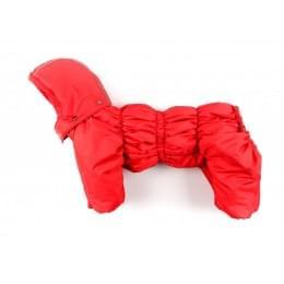 Комбинезон Ред утепленный на синтепоне с капюшоном для собак