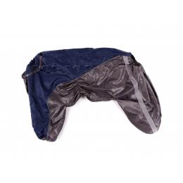 Дождевик Серый глянец осенний для собак