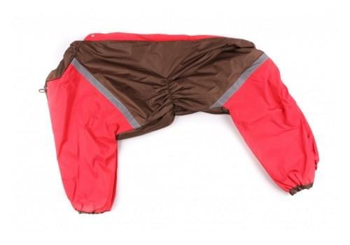 Дождевик RallyDog непромокаемый для собак породы далматин, боксер, доберман, кане корсо, овчарка, риджбек
