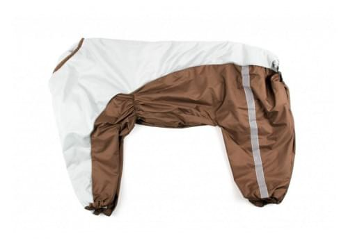 Дождевик BigOne непромокаемый для собак породы далматин, боксер, доберман, кане корсо, овчарка, риджбек