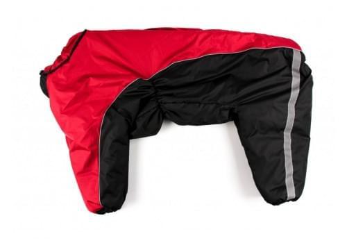 Комбинезон Реддог теплый на синтепоне для собак породы лабрадор, ретривер, далматин, боксер, доберман, кане корсо, колли, овчарка, риджбек, хаска