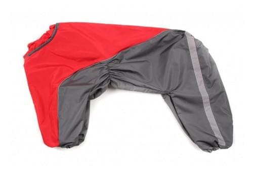 Дождевик GreyRed непромокаемый для собак породы лабрадор, ретривер, далматин, боксер, доберман, кане корсо, колли, овчарка, риджбек, хаска