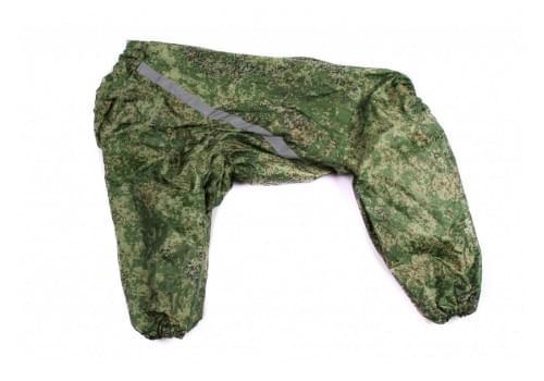 Дождевик Boss Green непромокаемый для собак породы лабрадор, ретривер, далматин, боксер, доберман, кане корсо, колли, овчарка, риджбек, хаски