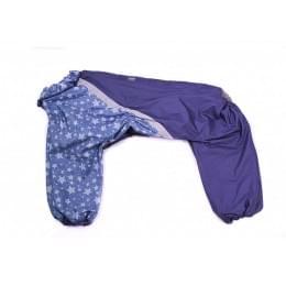 Дождевик Синие Звезды непромокаемый для собак.