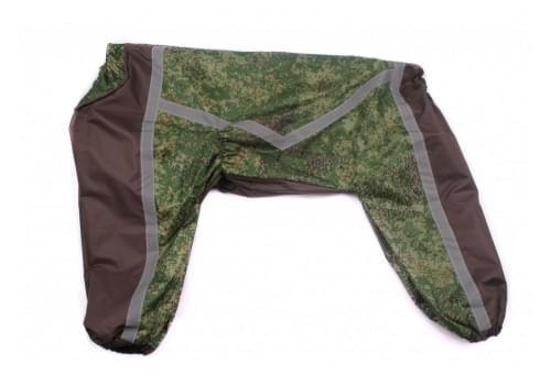 Дождевик Realzecam непромокаемый для собак породы лабрадор, ретривер, далматин, боксер, доберман, кане корсо, колли, овчарка, риджбек, хаски