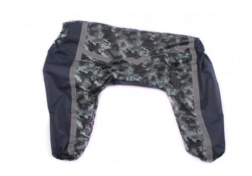 Дождевик Realcam непромокаемый для собак породы лабрадор, ретривер, далматин, боксер, доберман, кане корсо, колли, овчарка, риджбек, хаски