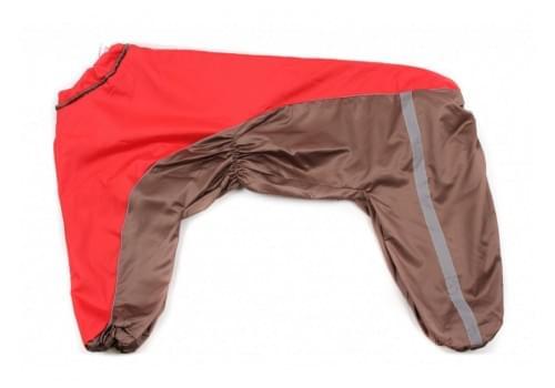 Дождевик BigOneDog непромокаемый для собак породы далматин, боксер, доберман, кане корсо, овчарка, риджбек