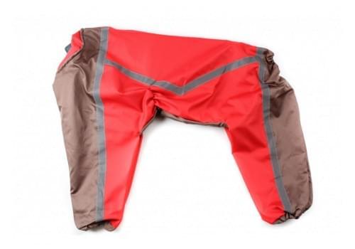 Дождевик RedOrange непромокаемый для собак породы лабрадор, ретривер, далматин, боксер, доберман, кане корсо, колли, овчарка, риджбек, хаски