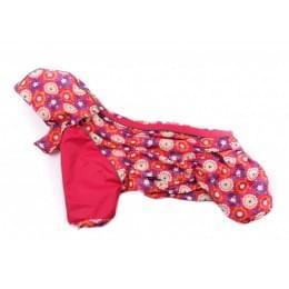Дождевик PinkEll c капюшоном для собак