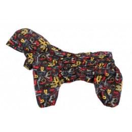 Дождевик MembranRally непромокаемый с капюшоном для собак