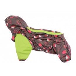 Дождевик Straw c капюшоном для собак