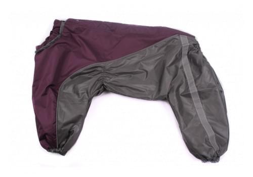 Дождевик LilakDog весенне-осенний для собак породы шарпей, амстафф, бультерьер, лабрадор, ретривер, колли, хаски