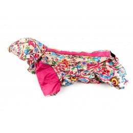 Дождевик FunnyFlower осенний с капюшоном для собак