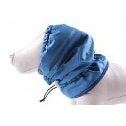 Шапка Синяя на флисе