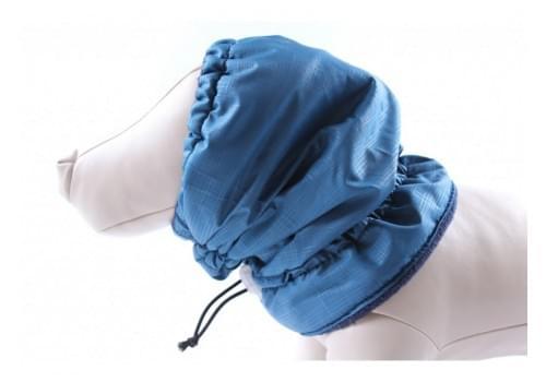 Шапка Синяя на флисе для собак