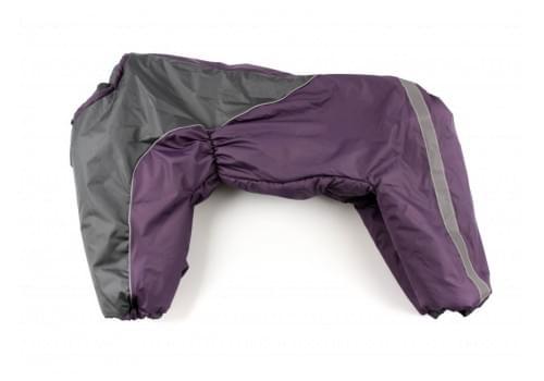 Комбинезон Viol 3 утепленный на синтепоне для собак породы амстафф, бультерьер, некрупный далматин, шарпей, колли