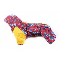 Комбинезон City зимний на синтепоне и флисе с капюшоном для собак