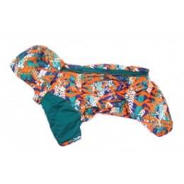 Комбинезон СтартХит зимний на синтепоне и флисе с капюшоном для собак