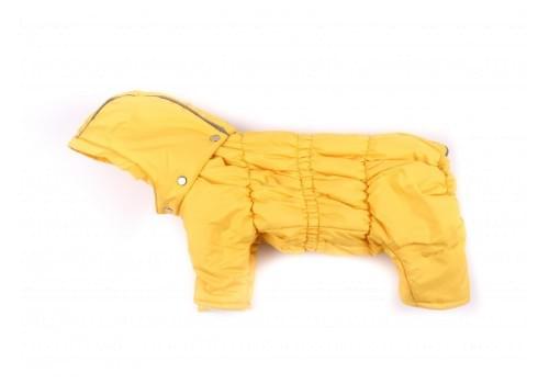 Дождевик WindOneKing осенний с капюшоном для собак породы вест хайленд терьер, джек рассел, фокстерьер, цвергшнауцер, шотландский терьер
