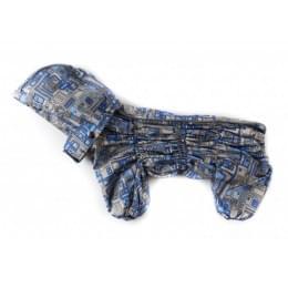 Дождевик WindOne осенний с капюшоном для собак