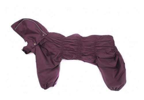 Дождевик ViolHit непромокаемый с капюшоном для собак породы бигль, шарпей, чау-чау, кокер спаниель, басенджи, фокстерьер