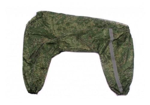 Дождевик ГрандГринБиг демисезонный для собак породы доберман, кане корсо, овчарка, риджбек