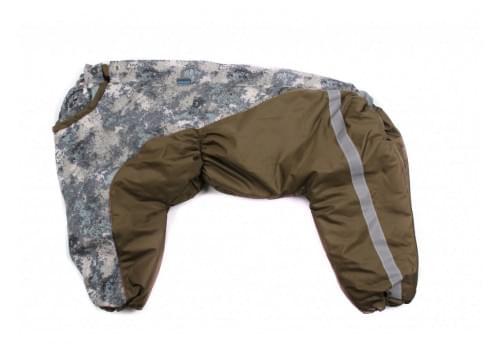 Комбинезон CamAvto утепленный на синтепоне для собак породы амстафф, бультерьер, шарпей, колли
