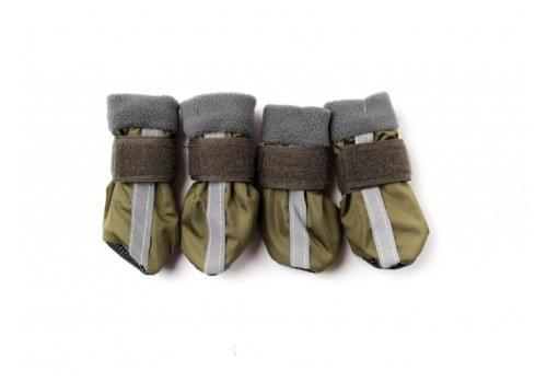 Ботиночки Зеленые ZA для собак