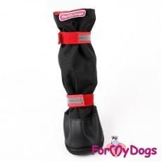 Ботиночки Черно-красные