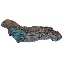 Комбинезон Бирклет зимний на синтепоне и флисе с капюшоном для собак