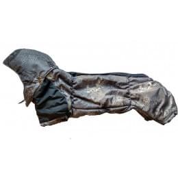 Комбинезон Columbus зимний на синтепоне и флисе с капюшоном для собак