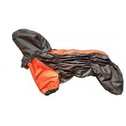 Дождевик Orange непромокаемый с капюшоном для собак