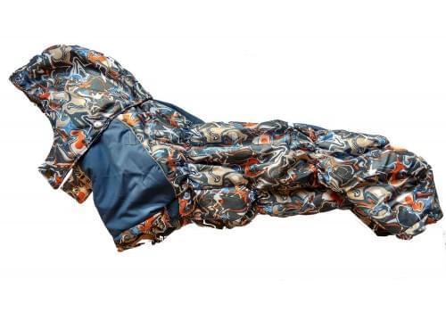 Комбинезон Divorce зимний на синтепоне и флисе с капюшоном для собак породы такса и вельш корги