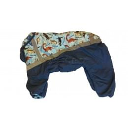 Комбинезон Dinozavr зимний на синтепоне и флисе для собак