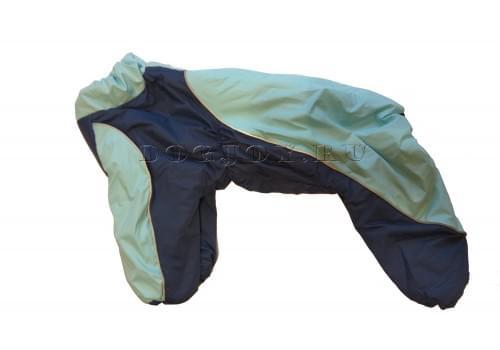 Комбинезон Ocean теплый на синтепоне для собак породы мопс, французский бульдог, бигль, вест хайленд терьер, джек рассел, кокер спаниэль, фокстерьер, цвергшнауцер, шарпей, шотландский терьер, пудель