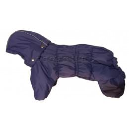 Комбинезон Дутик Виолет зимний на синтепоне и флисе с капюшоном для собак