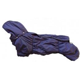 Комбинезон Пуховичок зимний на синтепоне и флисе с капюшоном для собак