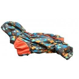 Комбинезон Dob-bob зимний на синтепоне и флисе с капюшоном для собак