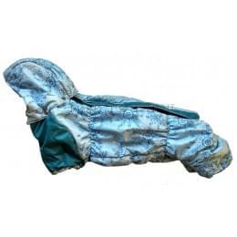 Комбинезон Мороз Long зимний на синтепоне и флисе с капюшоном для собак
