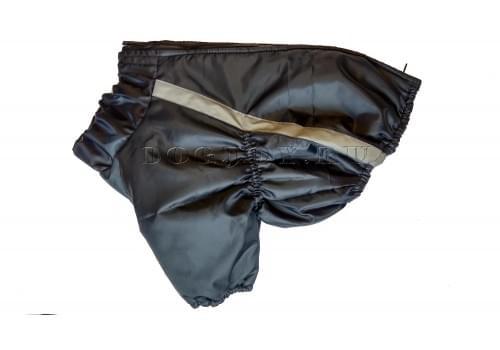 Куртка Черная Классика для мопса, французского бульдога, бигля, вест хайленд терьера, джек рассела, кокер спаниэля, фокстерьера, цвергшнауцера, шарпея, шотландского терьера, чау-чау