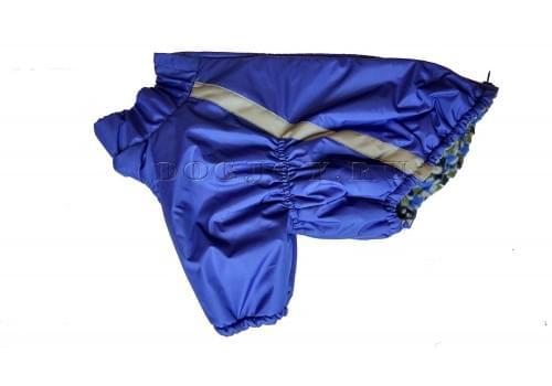 Куртка Синяя Классика для мопса, французского бульдога, бигля, вест хайленд терьера, джек рассела, кокер спаниэля, фокстерьера, цвергшнауцера, шарпея, шотландского терьера, чау-чау