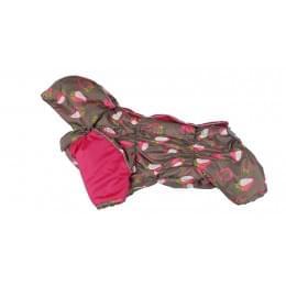Комбинезон Coral зимний на синтепоне и флисе с капюшоном для собак