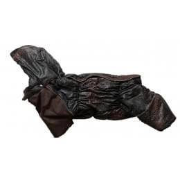 Комбинезон Pixsel S зимний на синтепоне и флисе с капюшоном для собак