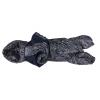 Комбинезон Полоска зимний на синтепоне и флисе с капюшоном для собак породы такса и вельш корги