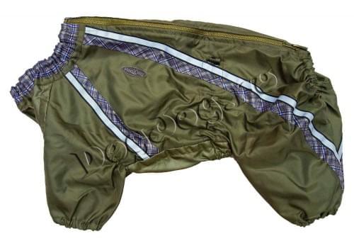 Дождевик Лягушонок непромокаемый для собак породы мопс, французский бульдог, бигль, вест хайленд терьер, джек рассел, кокер спаниэль, фокстерьер, цвергшнауцер, шарпей, шотландский терьер