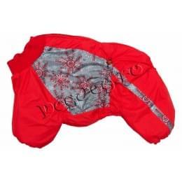 Комбинезон RedSnowBoy зимний на синтепоне и флисе для собак