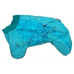 Комбинезон SnegBlue зимний на синтепоне и флисе для собак