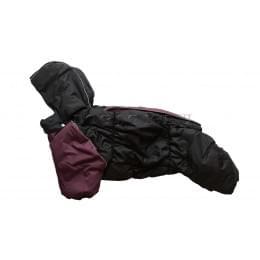 Комбинезон BlackViol S зимний на синтепоне и флисе с капюшоном для собак