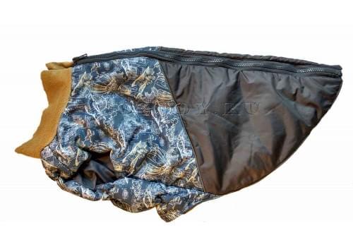 Жилет на синтепоне Воздушный шар для амстаффа, бультерьера, некрупного далматина, шарпея, колли